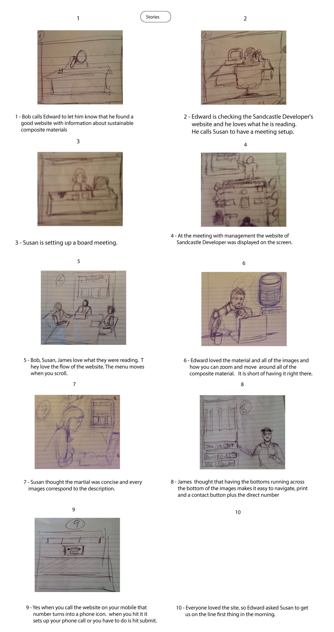 Sandcastle Design Process - Stories Image 3