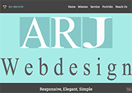 New ARJ-Web-Design WordPress Conversion