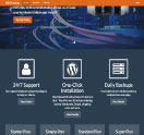 An image of a Template for ARJHosting website design