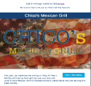 An image of a Template Mexican Email Campaign