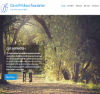 Daniel Michaud Foundation website image