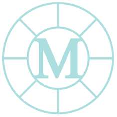A center Image of Mission Statement icon symbol