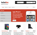 An image of a Template for RacComStore website design