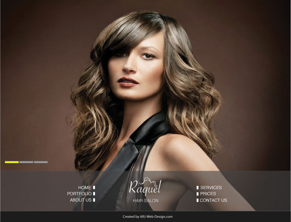 An image of a Mockup for Raquel Salon image 1