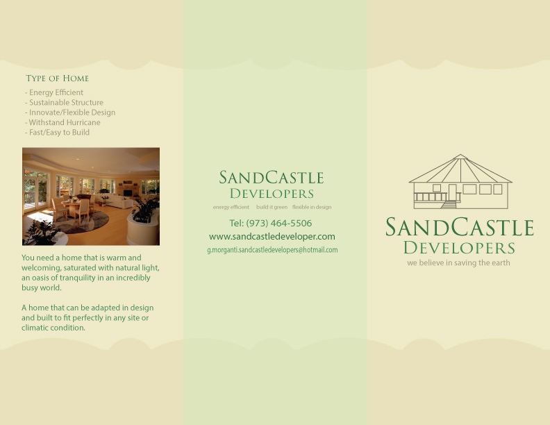 SandCastle Brochure Outer