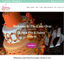 An image of a Mockup for Sari Gluten Free website design