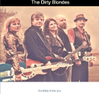 The Dirty Blondes HTML Email Campaign