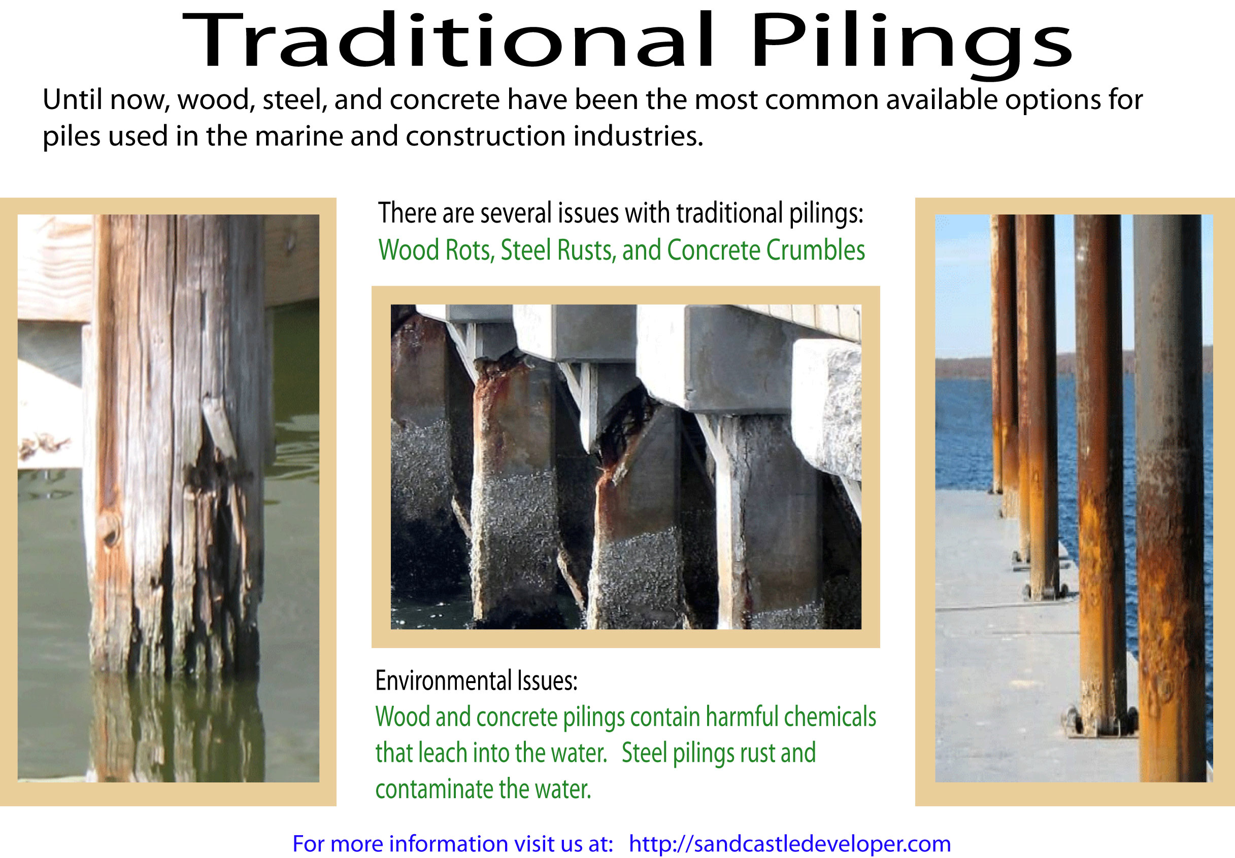Tradition Pilings