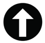 Image of a up arrow